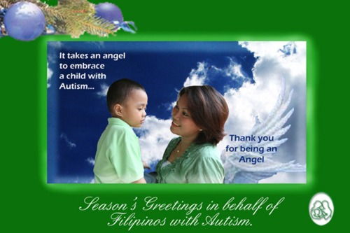 Autism Society Philippines ChristmasCard
