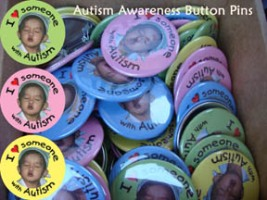 Autism Button Pins