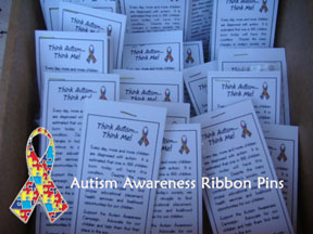 Autism Ribbon Pins