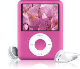 Pink Nano 3rdgen