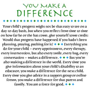 You make a difference