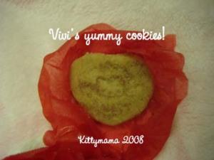 Vivi\'s yummy cinnamon sugar cookies (last one left!)