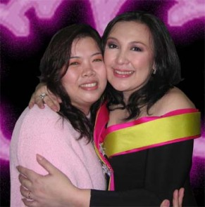 With Ms. Sharon Cuneta