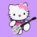 Guitar Hero-rockin\' Kittymama