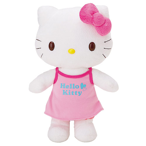 My Hello Kitty Dress Me doll arrived last Wednesday from the US.