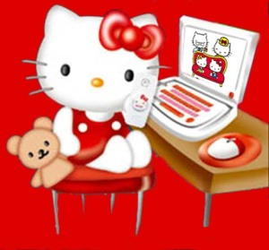 hello kitty  computer