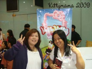 With my friend Leira at the HKO Launch, August 20
