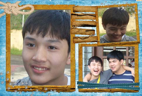 alphonse at 15- collage