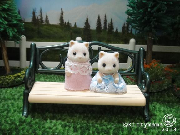 Unaccompanied Minors- pink fox twins