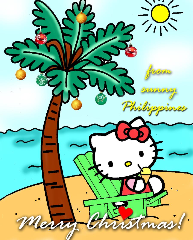 Hello Kitty Merry Christmas.Merry Christmas Everyone