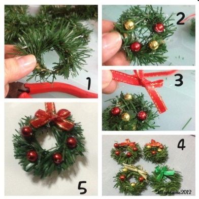 SF DIY wreaths