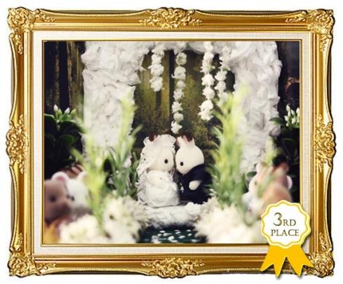 3rd Prize framed
