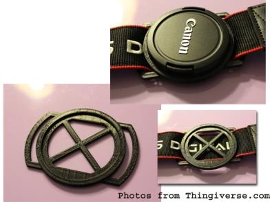 thingiverse lens cap holder