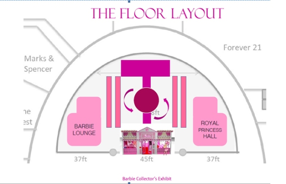 Barbie layout
