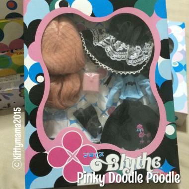Dress set- Pinky Doodle Poodle